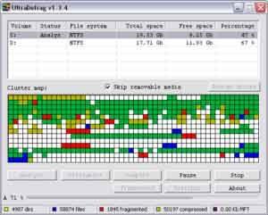 Scanner disque dur